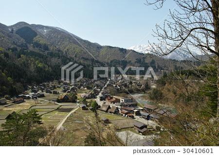 Spring Shirakawago Goseisaku Village 30410601