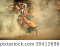 Khon Thai The fighting Hanuman with kumarakorn  30412696