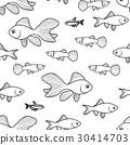 魚 樣式 圖案 30414703