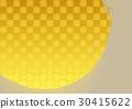 금박 일본식의 배경 30415622