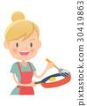 Housewife, housewife, cuisine 30419863