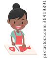 主婦 家庭主婦 烹飪 30419891