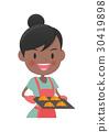 主婦 家庭主婦 烹飪 30419898