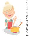 Housewife, housewife, tasting 30419921