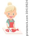 主婦 家庭主婦 烹飪 30419924