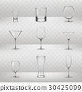 glass drink vector 30425099