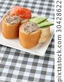 전채, 카나페, 프랑스 빵 30428622
