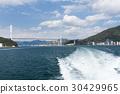 高島行きフェリーに乗船3 30429965