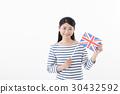 ธงชาติของผู้หญิงอังกฤษ 30432592