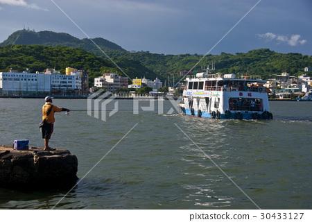 高雄,風景,港口,釣魚 30433127