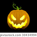 Halloween pumpkin, Jack O'Lantern 30434994