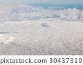 Top view Iceland natural winter season  30437319