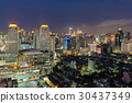 Aerial view City of Bangkok central business  30437349