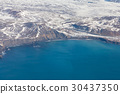 Aerial view Iceland seacoast landscape  30437350