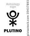 Astrology: PLUTINO (little planet) 30437893