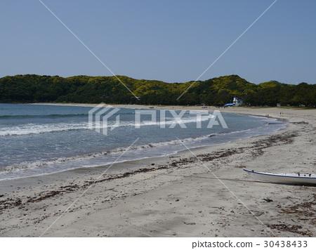 Yumigahama (100 hot water baths, 100 beaches in Japan, 100 white sandy pine nets in Japan) 30438433