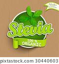 Stevia label, logo, sticker. 30440603