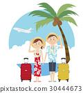 夏威夷衫 夏威夷衬衫 夫妇 30444673