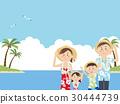 夏威夷衫 夏威夷衬衫 海水浴 30444739