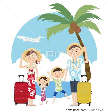 夏威夷衫 夏威夷衬衫 微笑 30444740