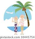 夏威夷襯衫 海水浴 夏天 30445754