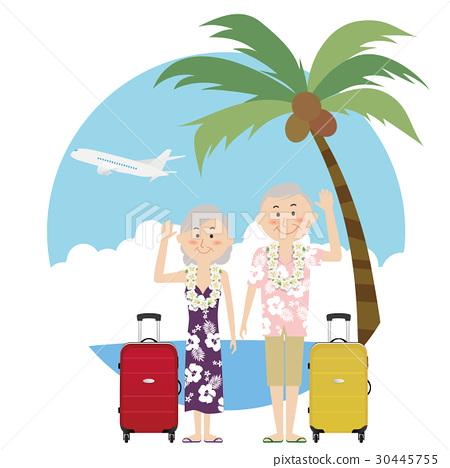 夏威夷衫 夏威夷衬衫 情侣 30445755