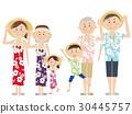 夏威夷襯衫 旅遊勝地 度假 30445757