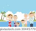 夏威夷衫 夏威夷衬衫 旅游胜地 30445770