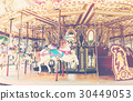 Outdoor vintage style carousel 30449053