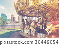 Outdoor vintage style carousel 30449054