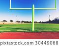 American football goal post 30449068