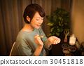 芳香療法 女性 女 30451818