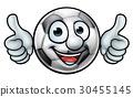 Soccer Football Ball Mascot 30455145