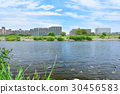 tamagawa, river, bed 30456583