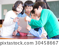 초등학생 수업 태블릿 30458667