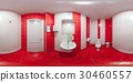 Restroom with toilet and washbasin 30460557