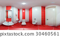 Restroom with toilet and washbasin 30460561