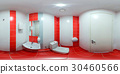 Restroom with toilet and washbasin 30460566