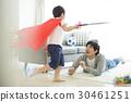 부모와 자식, 부모자식, 육아남성 30461251