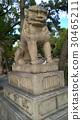 Stone lion of Sumiyoshi Taisha Shrine, Osaka 30465211