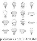 復古 氣球 ICON 30468360