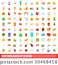 100 早餐 圖標 30468458