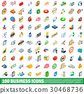 100, business, icons 30468736