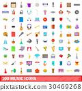 100 音樂 樂譜 30469268