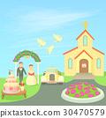 wedding concept vector 30470579