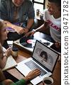 Turntable Vinyl Record DJ Scratch Music Entertainment Concept 30471782