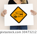 Bus Stop Sign Vehicle Symbol 30473212
