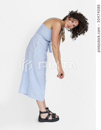 Caucasian Woman Casual Bend 30474086