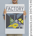 factory, industrial, man 30474146