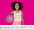 basketball, girl, little 30475191